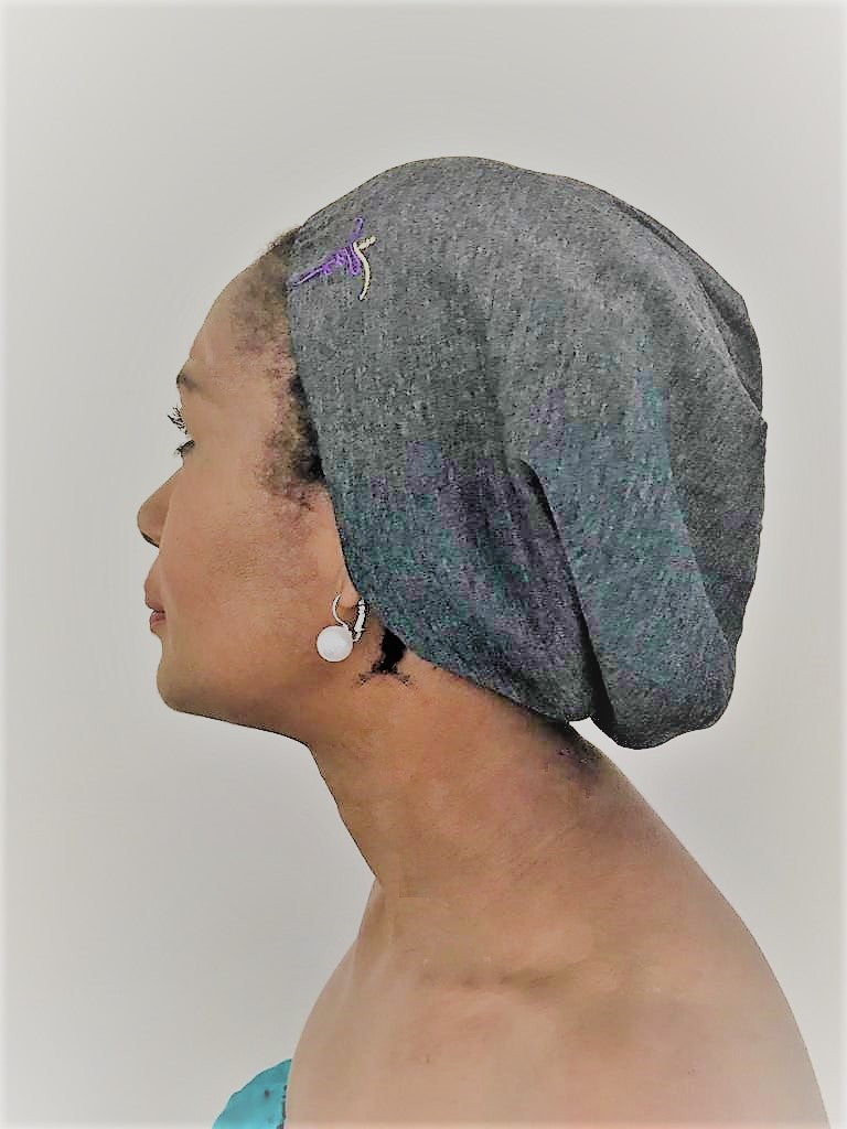 Satin-Lined Beanie - Medium - ST0021 & ST0031 - ThandiWrap