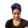 T'Wrap Headwrap  - Cotton Navy