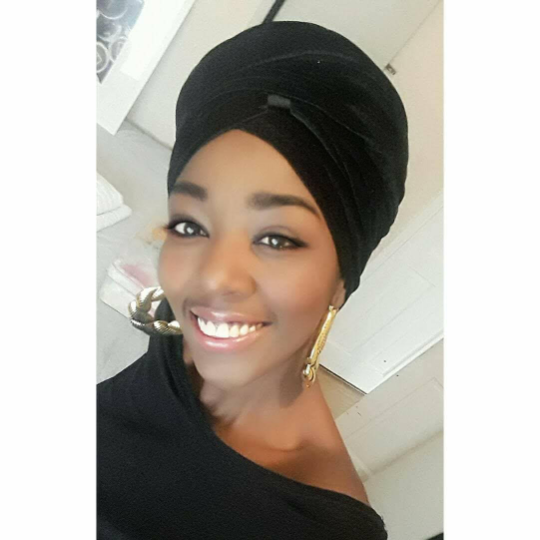 T'Wrap Headwrap - Velvet Black