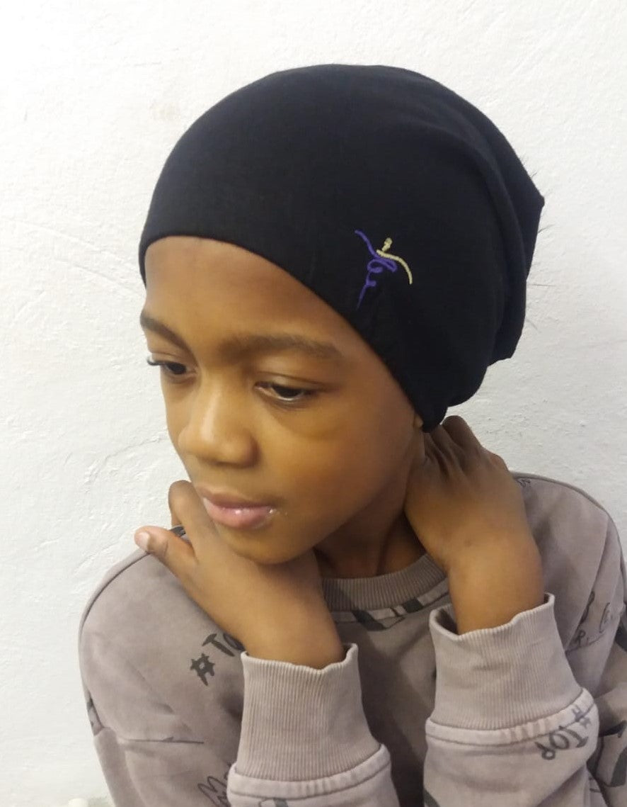 Satin-Lined Beanie - Kids - Unisex ST 0011 - ThandiWrap