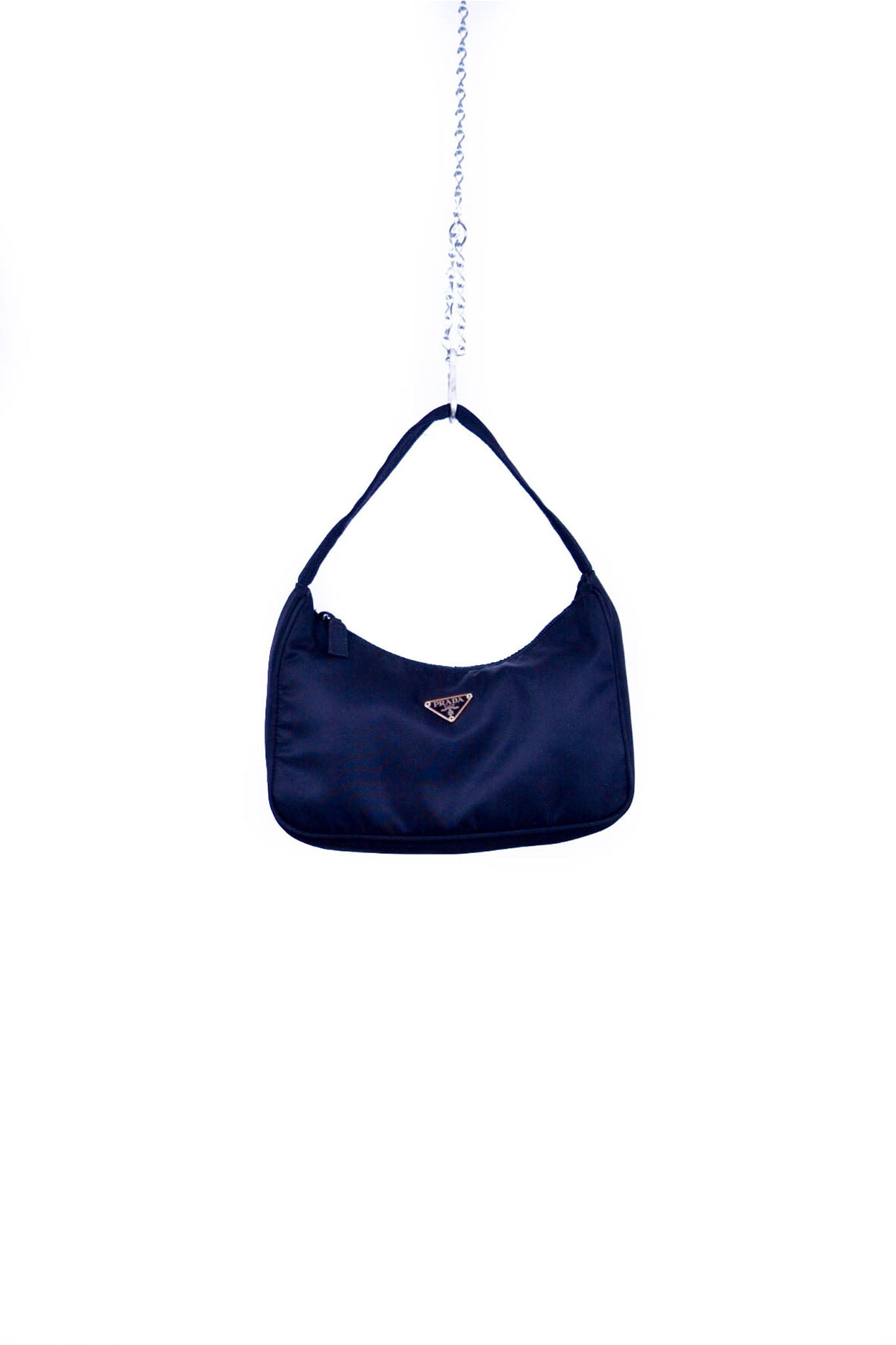 f2f16685dc84b6 Prada Tessuto Hobo Nylon Mini Bag - AVERAGE LOCAL
