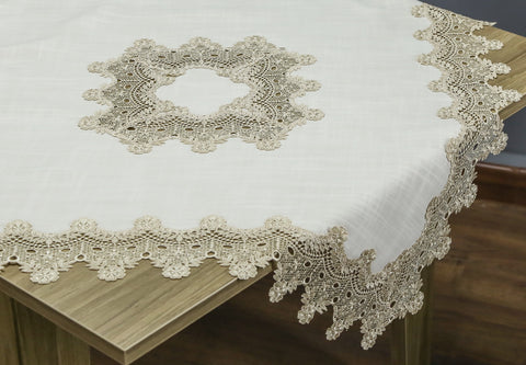 Sophia Square Table Topper | 36 inches