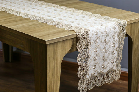Davina Table Runner | 16 x 72 inches