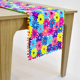 Multicolor Floral Table Runner | 16x64 inches