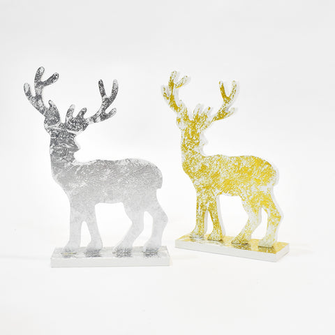 Decorative Wooden Christmas Deer