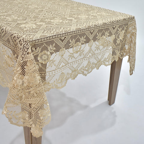 Arabella Dining Table Topper | 72x108 inches