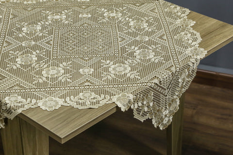 Arabella Square Table Topper | 36 inches