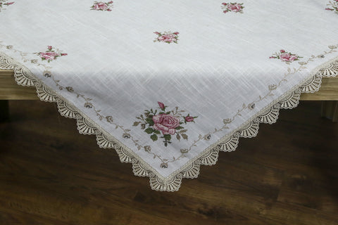 Fiona Square Table Topper | 54 Inches