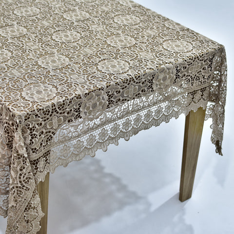 Thalia Dining Table Topper | 72x108 inches