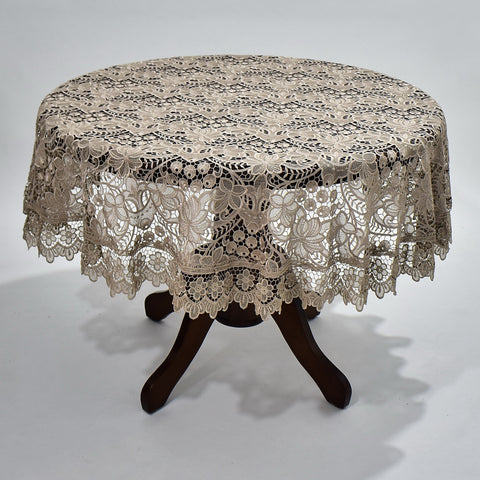 Ivy Round Table Topper | 72 inches