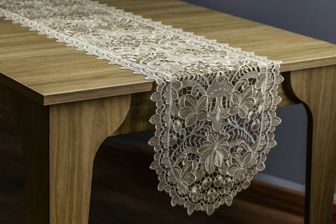 Ivy Oval Table Runner | 16x72 inches