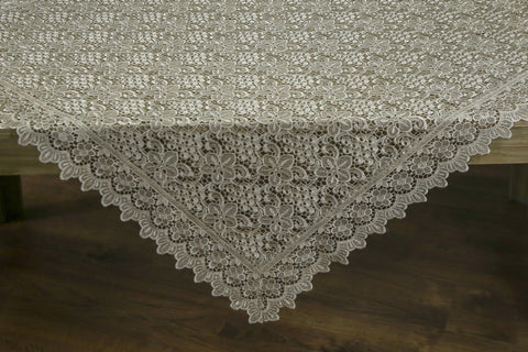 Grappa Square Table Topper | 54 inches