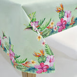 Printed Hummingbird Table Topper | 72x108 inches