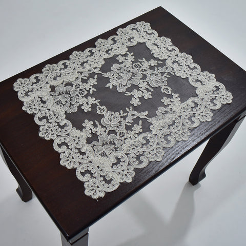 Chantilly Rectangle Doily | 12x18 inches