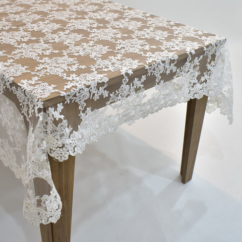 Chantilly Dining Table Topper | 65x104 inches