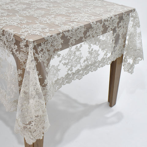 Chantilly Dining Table Topper | 65x85 inches