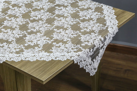 Chantilly Square Table Topper | 36 inches
