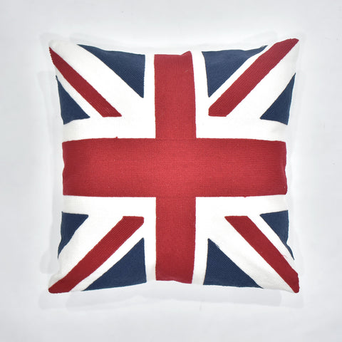 Great Britain Embroidered Cushion Cover | 45 x 45 cm