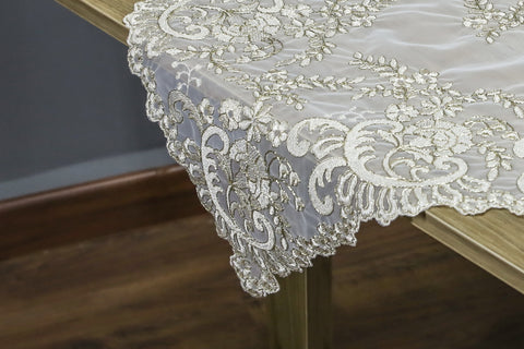 Irina Square Table Topper | 36 inches