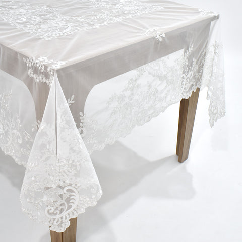 Irina Dining Table Topper | 72x126 inches