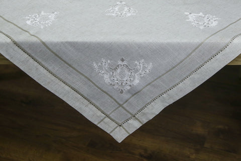 Vana Square Table Topper | 54 inches