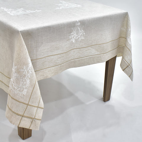 Vana Dining Table Topper | 72x108 inches