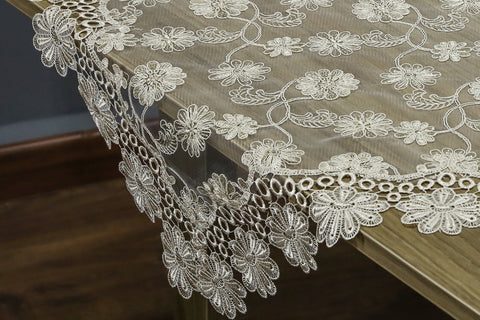 Lissette Square Table Topper | 36 inches