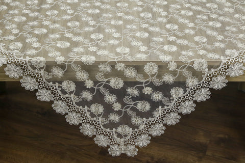 Lissette Square Table Topper | 54 inches