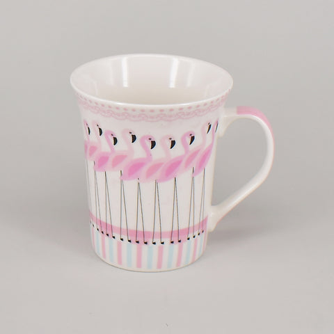Fancy Flamingo Ceramic Mug