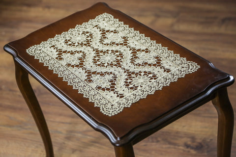 Alik Rectangle Doily | 12x18 inches