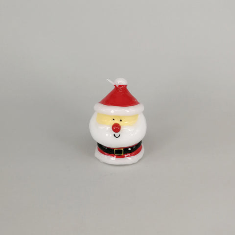 Decorative Comical Christmas Santa Candle | Small
