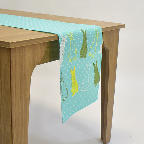 Easter Dotted Table Runner | 16x72 inches