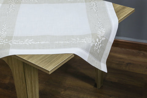 Anna Square Table Topper | 36 inches
