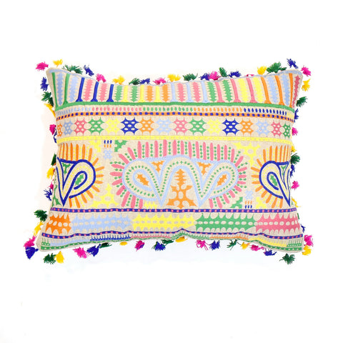 Indian Embroidery Cushion Cover | 35 x 50 cm