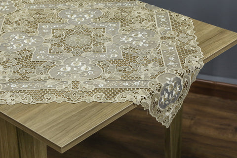 Leela Square Table Topper | 36 inches