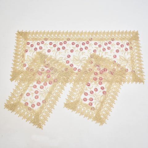 Bloom 3 Piece Tablecloths Set