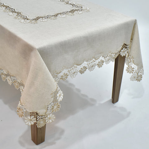 Fiore Dining Table Topper | 72x108 inches