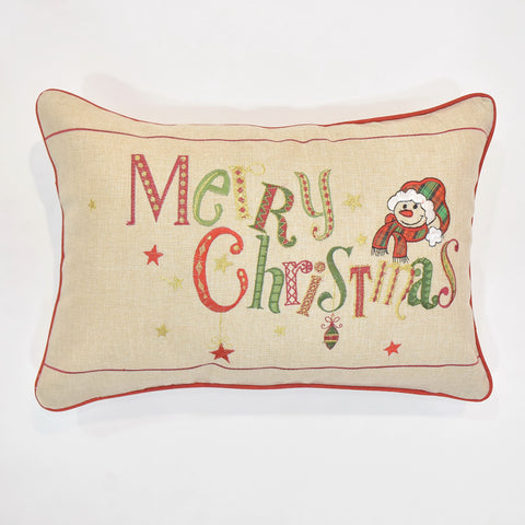 Merry Christmas Cushion Cover | 35 x 50 cm