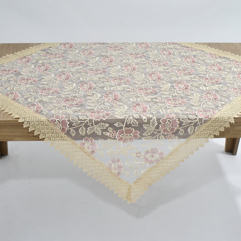 Marguerite Square Table Topper | 54 inches
