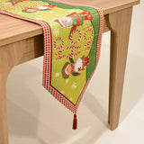 Ho Ho Ho Santa Christmas Tapestry Table Runner | 33 x 180 cm