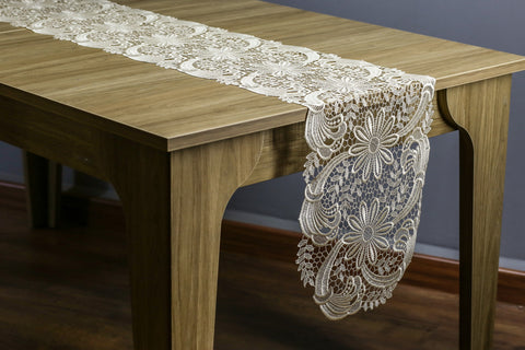 Milena Oval Table Runner | 14x72 inches