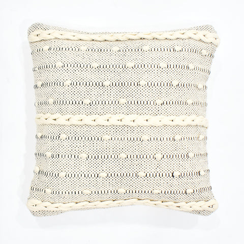 Dotted Macrame Cushion Cover | 45 x 45 cm