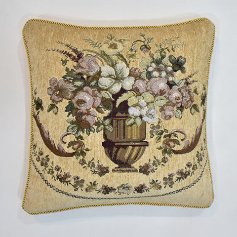 Classic Floral Tapestry Cushion Cover | 45 x 45 cm