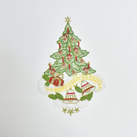 Christmas Tree Doily | 8x12 inches