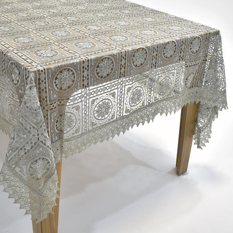 Lori Dining Table Topper | 72x108 inches