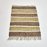 Brown and Beige Rug | 60 x 90 cm