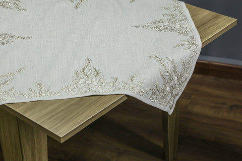 Arabesque Square Table Topper | 36 inches