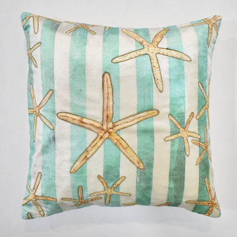 Starfish Striped Cushion Cover | 45 x 45 cm