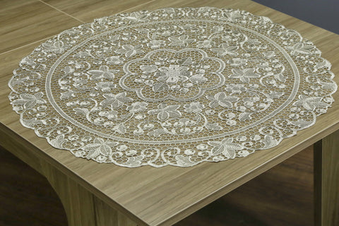 Ophelia Round Table Topper | 36 inches