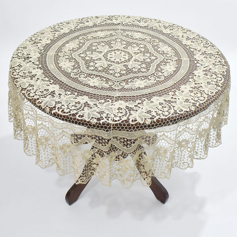 Ophelia Round Table Topper | 72 inches
